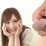 出るとこ見せてぇ…!目の前で繰り広げられるセンズリに釘付けになる関西弁ギャル!