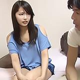 カフェ店員さんを仕事中にナンパ☆自宅に上がらせてもらいスク水に着替えてSEX!