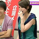 素人カップルにAVモニターしてもらい…発情した彼女をラブホに連れ込みハメ撮り!