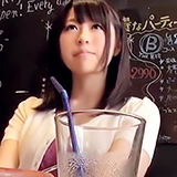 谷間丸見え清楚ビッチ!Eカップの美巨乳&美尻美少女が彼氏に内緒でハメ撮バイト!