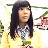 「何で出したんですか…!?」出会い系でアポった黒髪美少女JKを無断中出しハメ撮!