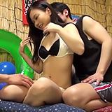 夏休み中の地元JK素人さんをノリで押し切りナマ中出しSEX!
