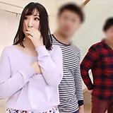 H企画で負けた素人夫婦が罰ゲSEX⇒AV男優が乱入して寝取り中出し!